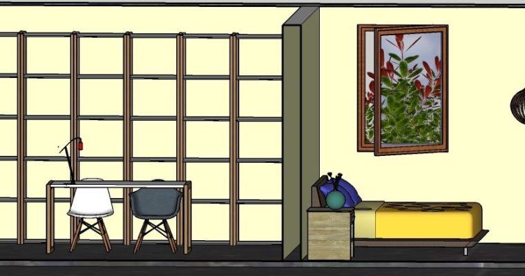 Casa do Forno door Interisfeer wandaanzicht