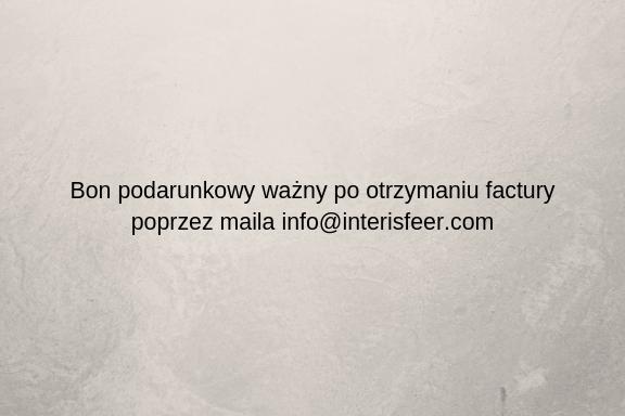 Bon podarunkowy - oświetlenia cz. II