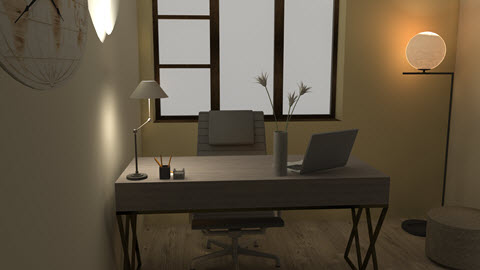 OFFICE DESIGN AT HOME