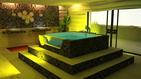Thuis wellness ontworpen door Interisfeer