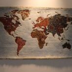 wall decor - world map
