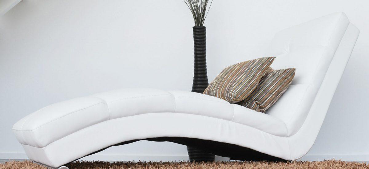 chaise longue komfortowy fotel